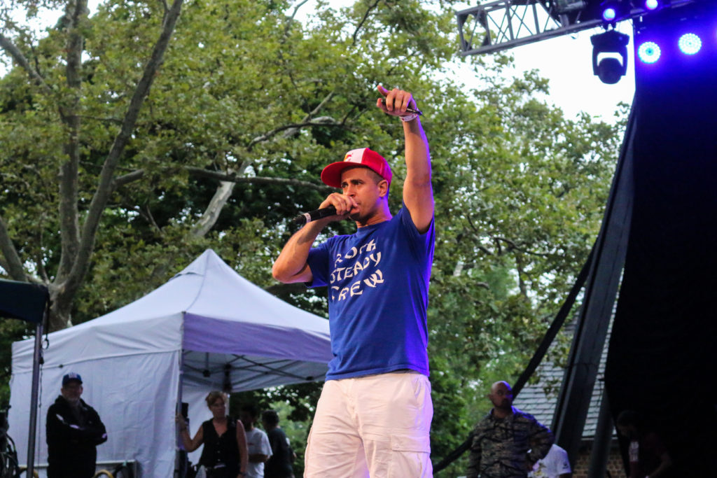 Crazy Legs at the Rock Steady Crew 39th Anniversary show in Central Park
